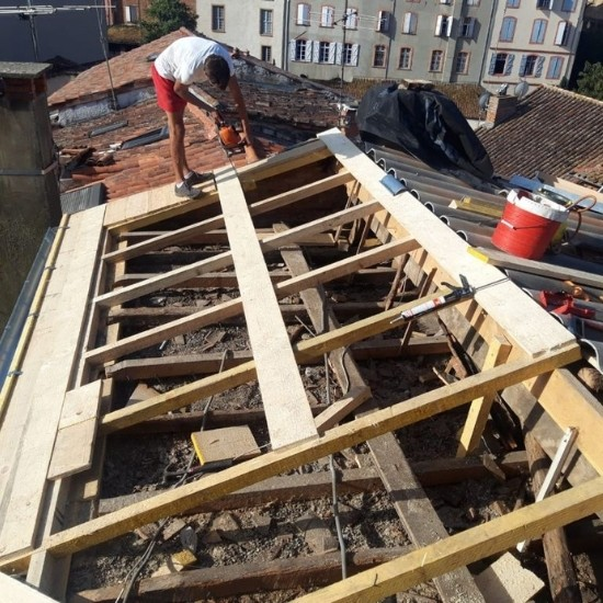 Réparation de toiture 31